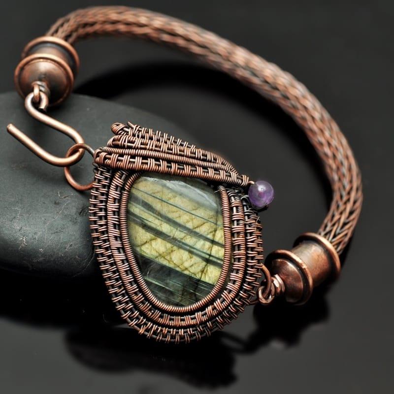Wire Wrap Bangles and Bracelets - Nicole Hanna Jewelry